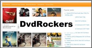 Dvdrockers: Stunning Collection of Tamil, Telugu, Malayalam & Hindi Dubbed Movies!!